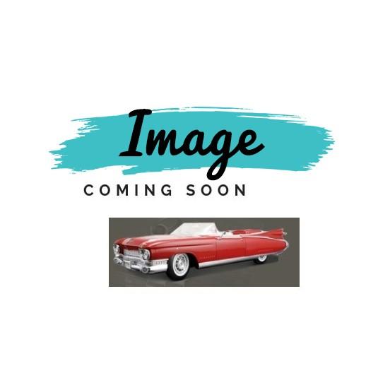 1964 Cadillac Coupe DeVille Hardtop Trunk Side Panels Double Black (4 Pieces) REPRODUCTION