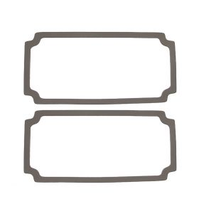 1964 1965 Cadillac (See Details) Signal, Directional and Parking Lamp Lens Gaskets 1 Pair REPRODUCTION