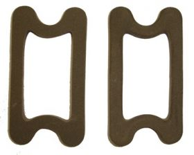 1965 Cadillac Series 75 Limousine License Plate Lens Gaskets 1 Pair REPRODUCTION