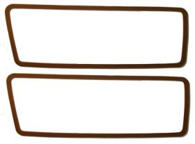 1968 1969 1970 1971 1972 Cadillac (See Details) Cornering Lens Gaskets 1 Pair REPRODUCTION