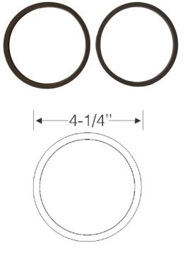 1961 Cadillac Parking and Fog Light Gaskets 1 Pair REPRODUCTION