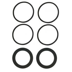 1960 Cadillac Tail Light and Back Up Light Lens Gasket Kit (6 Pieces) REPRODUCTION Free Shipping In The USA