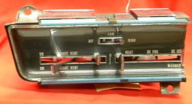 1963 Cadillac Heating and Ventilation Dash Climate Control Head Unit REBUILT Free Shipping In The USA