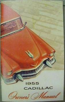 1955-cadillac-owners-manual-reproduction