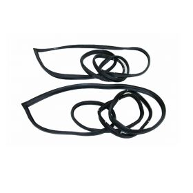 1977 1978 1979 1980 1981 1982 1983 1984 Cadillac Deville 2-Door Coupe Door Rubber Weatherstrips 1 Pair REPRODUCTION Free Shipping In The USA