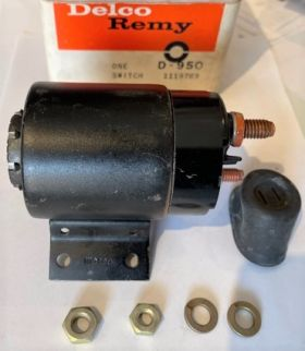 1954 1955 1956 Cadillac Starter Solenoid New Old Stock Free Shipping In The USA