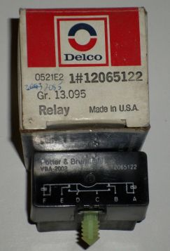 1989 1990 1991 1992 1993 Cadillac Allante Door Lock Relay Relay  NOS  Free Shipping In The USA