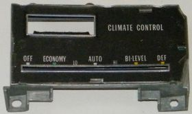 1974 1975 1976 Cadillac (See Details) Climate Control Escutcheon Plate NOS Free Shipping In The USA