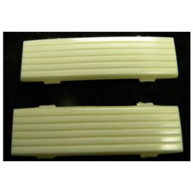 1959 Cadillac Fleetwood Series 60 Special Interior Back Of Front Seat Lenses 1 Pair REPRODUCTION Free Shipping In The USA