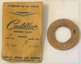 1939 1940 1941 1942 1945 1946 1947 1948 1949 1950 1951 1952 1953 Cadillac Transmission Thrust Washer On Countershart And Idler Gear Shaft New Old Stock Free Shipping In The USA