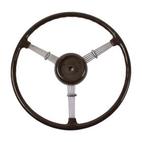 1938 Cadillac Series 75 Limousine Steering Wheel Brown USED Free Shipping In The USA