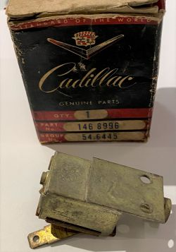 1951 1952 1953 1954 1955 Cadillac (Except CC) Heater or Defroster Control Switch Left NOS Free Shipping In The USA