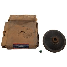 1958 Cadillac (EXCEPT Commercial Chassis) Air Spring Compressor Pulley NOS Free Shipping In The USA