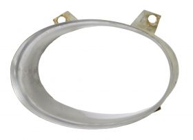 1959 Cadillac Parking & Signal Lamp Stainless Steel Bezel In Bumper Left Driver's Outer & Right Passenger Inner A- Quality USED Free Shipping In The USA