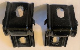 1961 1962 Cadillac Front License Brackets Used Free Shipping In The USA