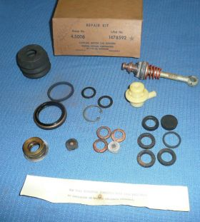 1962 Cadillac (Before Engine No. 107312) Bendix Booster Repair Kit NOS Free Shipping In The USA