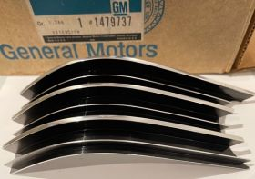 1963 Cadillac Inner Right Side Grille Extension New Old Stock Free Shipping In The USA