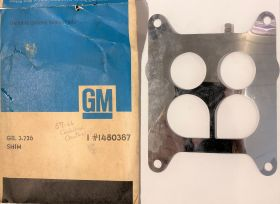 1957 1958 1959 1960 1961 1962 1963 1964 1965 1966 Cadillac Carter Carburetor Shim Plate NOS Free Shipping In The USA