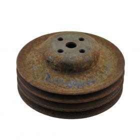 1958 1959 1960 1961 1962 1963 1964 1965 Cadillac Triple Grove A/C Water Pump Pulley USED Free Shipping In The USA