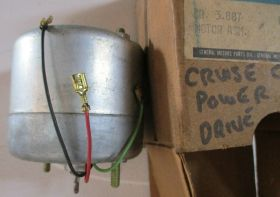 1965 1966 Cadillac Cruise Control Power Unit Motor Drive Under Hood NOS Free Shipping In The USA