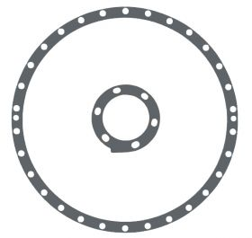 1942 1946 1947 1948 Cadillac Hydramatic Transmission Flywheel Torus Cover Gasket REPRODUCTION Free Shipping In The USA