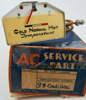 1936 1937 Cadillac (See Details) Temperature Gauge NOS Free Shipping In The USA