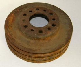 1963 1964 1965 1966 1967 Cadillac Harmonic Balancer Pulley Triple Groove A/C Cars USED Free Shipping In The USA