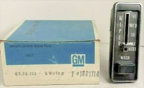 1973 Cadillac Wiper Switch NOS Free Shipping In The USA
