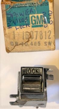1976 Cadillac (See Details) Door Lock Out Control Switch New Old Stock Free Shipping In The USA