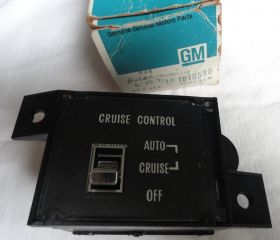 1977 1978 1979 Cadillac Fleetwood Cruise Control Switch NOS Free Shipping In The USA