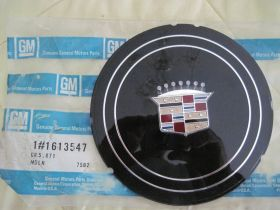 1979 Cadillac Wheel Cover Crest Emblem  NOS Free Shipping In The USA