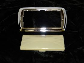 1939 1940 1941 1942 1946 1947 1948 1949 Cadillac Hardtop (See Details) Dome Lens and Bezel REPRODUCTION Free Shipping In The USA