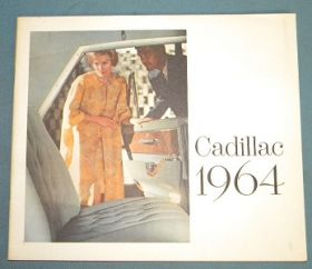 1964 Cadillac Full-Line Sales Brochure NOS Free Shipping In The USA