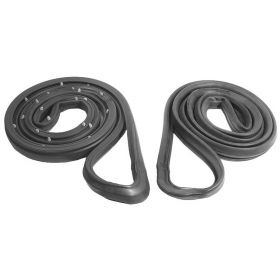 1985 1986 1987 1988 1989 1990 1991 1992 1993 Cadillac Deville and Fleetwood WITH Front Wheel Drive (FWD) (See Details) 4-Door Molded Front Door Rubber Weatherstrips 1 Pair REPRODUCTION Free Shipping In The USA