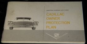 1963 Cadillac Owner Protection Plan Booklet - Original USED Free Shipping In The USA