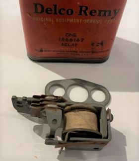 1936 1937 1938 1939 1940 1941 1942 Cadillac (See Details)  Starter Relay New Old Stock Free Shipping In The USA