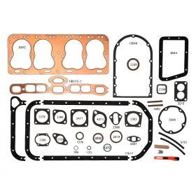 1937 1938 1939 1940 1941 1942 1946 1947 1948 Cadillac Complete Engine Gaskets REPRODUCTION Free Shipping In The USA