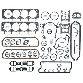 1963 Cadillac Engine Gasket Rebuilding Kit (60 Pieces) REPRODUCTION Free Shipping In The USA
