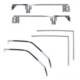 1959 1960 Cadillac Convertible Window Frame & Channel Set REPRODUCTION Free Shipping In The USA