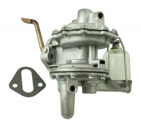1936 1937 1938 1939 Cadillac Fuel Pump With Glass Bowl and Gasket REBUILT Free Shipping In The USA