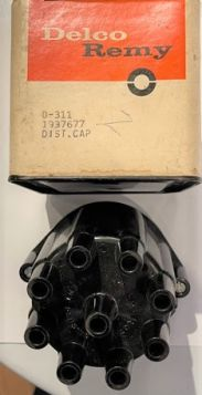 1958 1959 1960 Cadillac Tri-Power Distributor Cap New Old Stock Free Shipping In The USA
