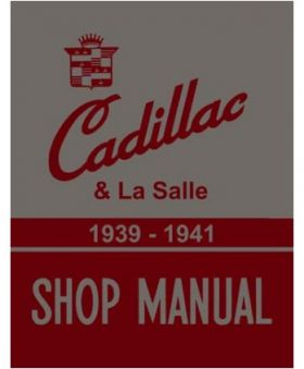 1939 1940 1941 Cadillac Chassis Only Shop Manual REPRODUCTION Free Shipping In The USA