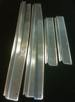 1940 Cadillac Series 60 Special Door Sill Plate Set of 4 REPRODUCTION