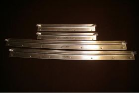 1941 Cadillac Series 62 4-Door Convertible and Sedan Door Sill Plate Set of 4 REPRODUCTION