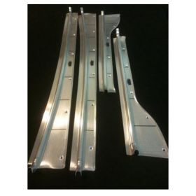 1948 1949 Cadillac Series 60 Special Door Sill Plate Set of 4 REPRODUCTION