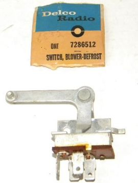 1964 Cadillac Blower Defrost Switch NOS Free Shipping In The USA