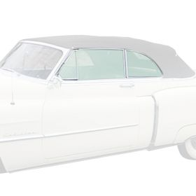 1950 1951 Cadillac Series 62 Convertible Glass Set (6 pieces) REPRODUCTION Free Shipping In The USA
