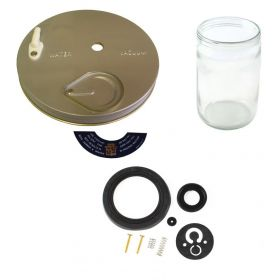 1950 Cadillac Windshield Washer And Pump Rebuild Kit (11 Pieces) REPRODUCTION Free Shipping In The USA