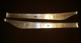 1951 1952 1953 Cadillac 2-Door (See Details) Door Sill Plate Set of 2 REPRODUCTION