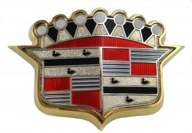 1953 Cadillac Hood Crest RESTORED/REPRODUCTION Free Shipping in the USA